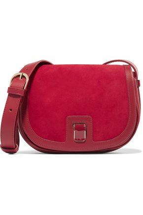 VANESSA SEWARD Dylan leather and suede shoulder bag