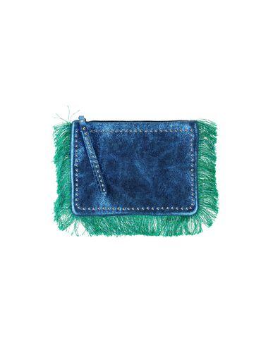 NANNI レディース ハンドバッグ アジュールブルー 革 70% / 紡績繊維 20% / 金属 10%
