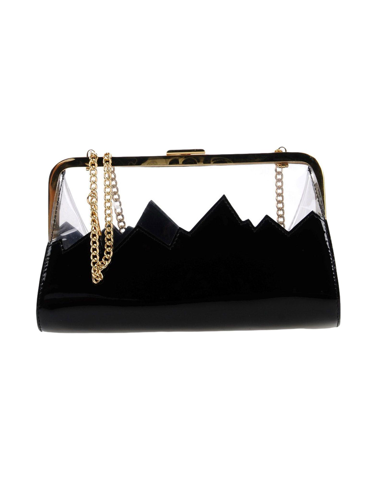 MOSCHINO CHEAP AND CHIC Handbag in Black