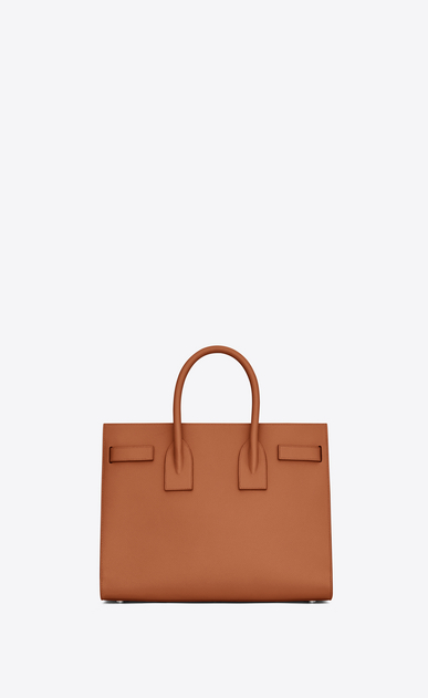 SAINT LAURENT Sac De Jour Small Woman Small SAC DE JOUR in cognac grained leather b_V4