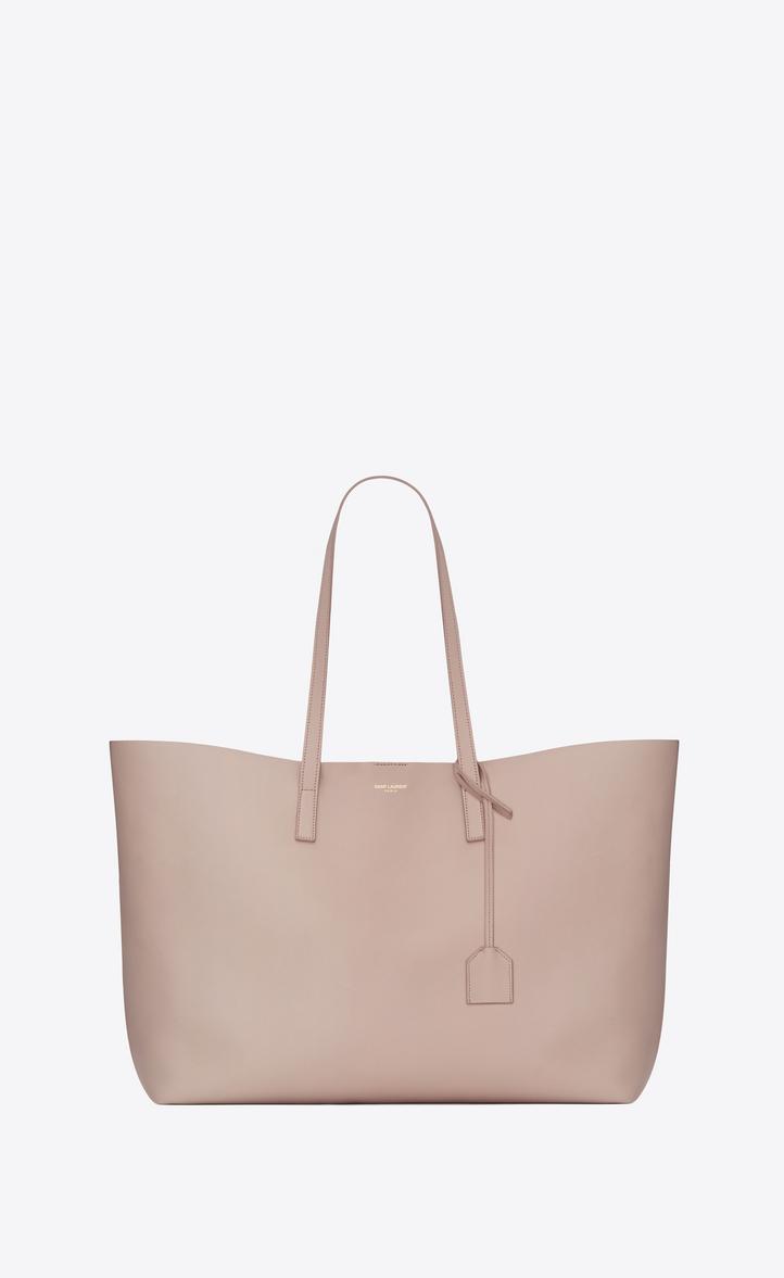 b1d923424294f Saint Laurent Shopping Bag Saint Laurent E W In Supple Leather ...