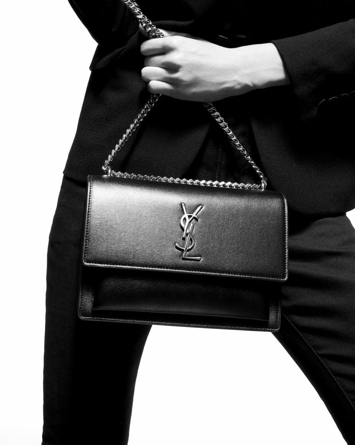 2f13442ef632 Saint Laurent SUNSET Medium In Smooth Leather