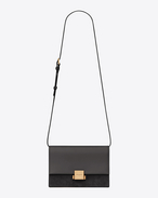 SAINT LAURENT Bellechasse D Medium BELLECHASSE SAINT LAURENT bag in gray leather and suede f
