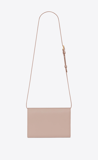 SAINT LAURENT Bellechasse Woman Medium BELLECHASSE SAINT LAURENT satchel in pink leather and suede b_V4