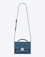 SAINT LAURENT Bellechasse D Medium BELLECHASSE SAINT LAURENT bag in denim blue leather f