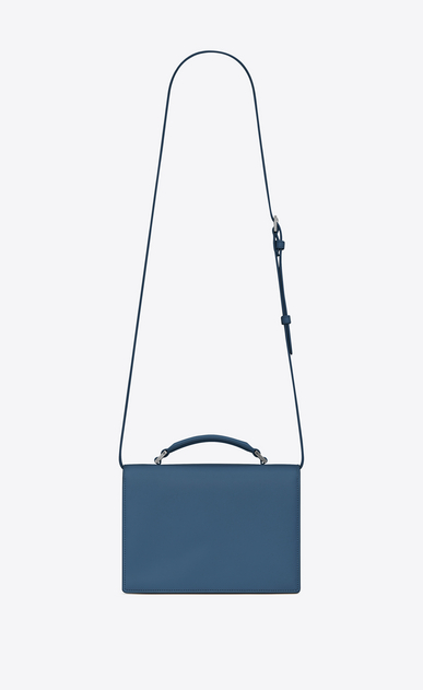 SAINT LAURENT Bellechasse D Medium BELLECHASSE SAINT LAURENT bag in denim blue leather b_V4