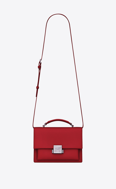 SAINT LAURENT Bellechasse Woman Medium BELLECHASSE SAINT LAURENT bag in red leather a_V4