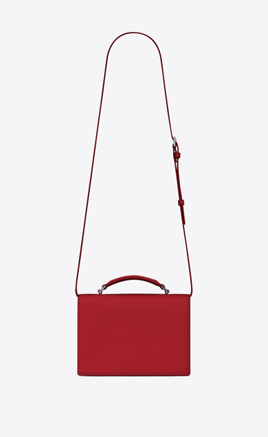 SAINT LAURENT Bellechasse Woman Medium BELLECHASSE SAINT LAURENT bag in red leather b_V4