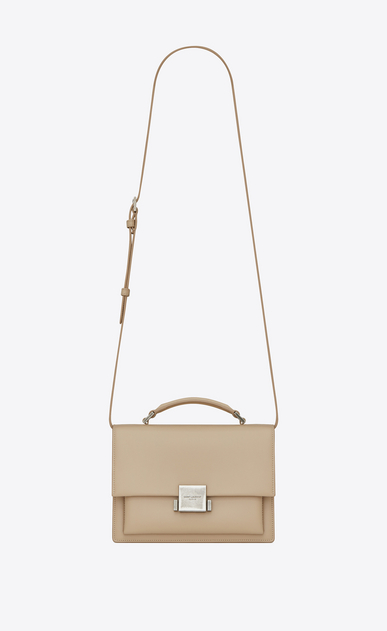 SAINT LAURENT Bellechasse Damen Mittlere BELLECHASSE SAINT LAURENT Tasche aus puderrosa Leder a_V4
