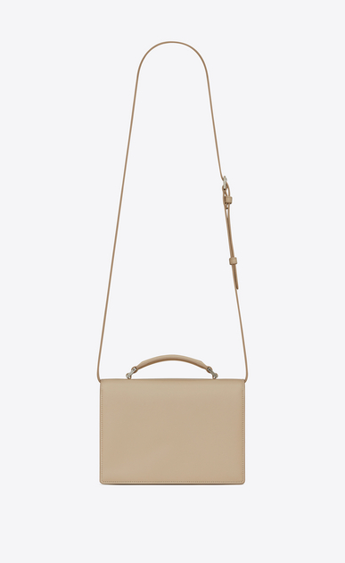 SAINT LAURENT Bellechasse Woman Medium BELLECHASSE SAINT LAURENT bag in powder leather b_V4
