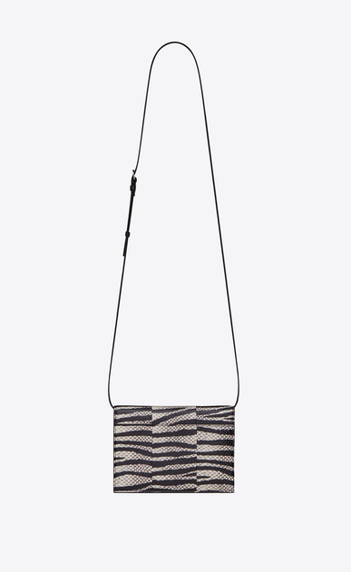 SAINT LAURENT Mini bags Kate D KATE Toy bag in black and white zebra-stripe Ayers b_V4