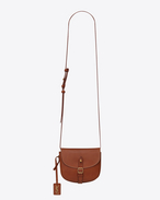SAINT LAURENT Toy Besace D Toy BESACE bag in caramel vegetal leather f