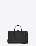 SAINT LAURENT Debbie D Large DEBBIE tote bag in black leather f