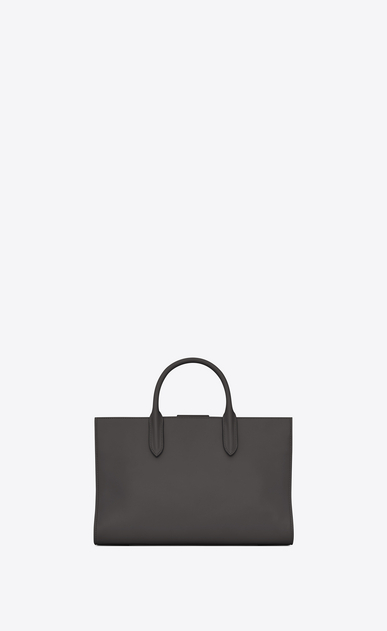 SAINT LAURENT Debbie D Medium JANE tote bag in asphalt gray leather b_V4