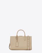 SAINT LAURENT Debbie D Medium JANE tote bag in powder leather f