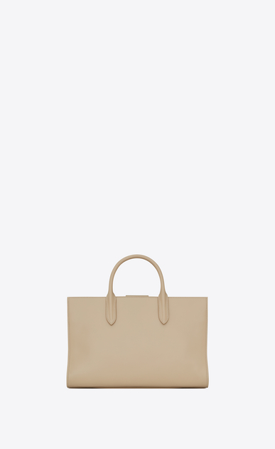 SAINT LAURENT Debbie D Medium JANE tote bag in powder leather b_V4