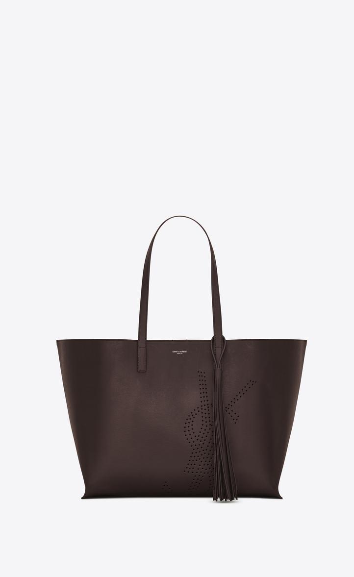 Saint Laurent Shopping Bag Saint Laurent E W In Perforated Vintage ... 440a743ffc