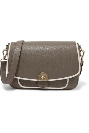 MALLET & CO Wilton two-tone textured-leather shoulder bag