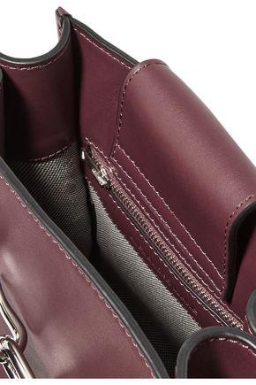 ALEXANDER WANG Attica Mini chain-trimmed leather shoulder bag