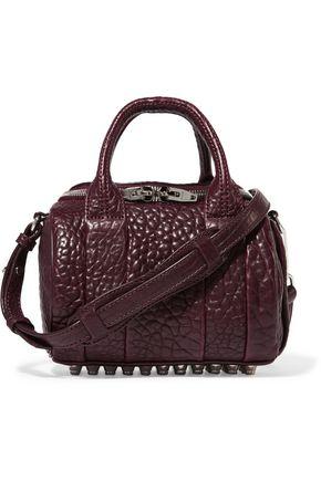 ALEXANDER WANG Rockie mini textured-leather shoulder bag