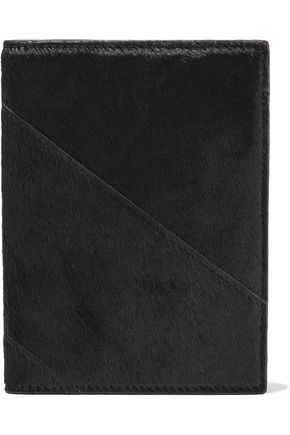 DIANE VON FURSTENBERG Calf hair passport cover
