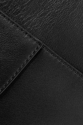 DIANE VON FURSTENBERG Origami leather clutch