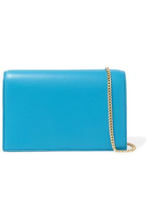 DIANE VON FURSTENBERG Soirée leather shoulder bag
