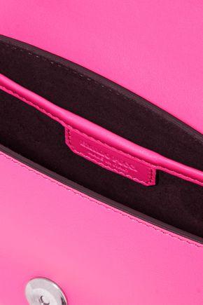 EMILIO PUCCI Color-block leather shoulder bag