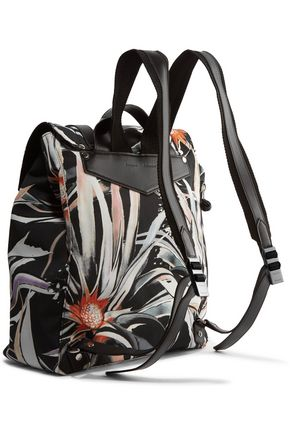 PROENZA SCHOULER Printed canvas backpack