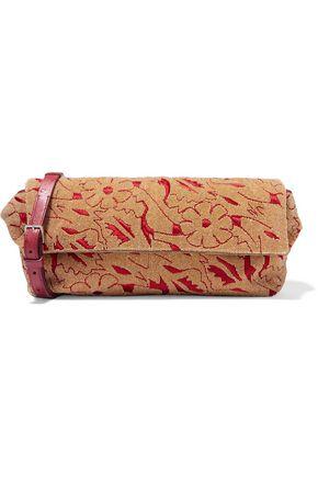 THE ROW Flap embellished brocade shoulder bag