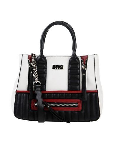 LA CARRIE BAG レディース ハンドバッグ ホワイト 紡績繊維
