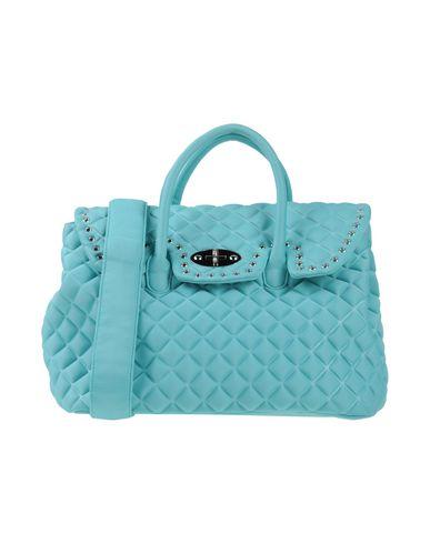 MIA BAG レディース ハンドバッグ ターコイズブルー 紡績繊維