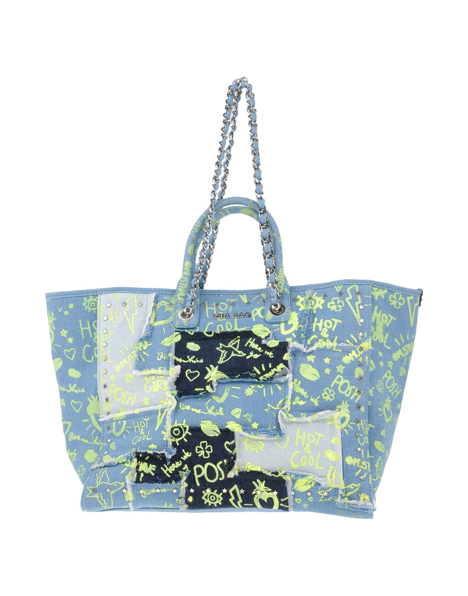 MIA BAG Сумка на руку mia bag большая сумка из текстиля