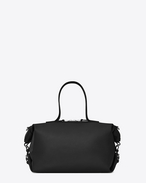 SAINT LAURENT ID bags U Medium convertible ID bag in black leather f