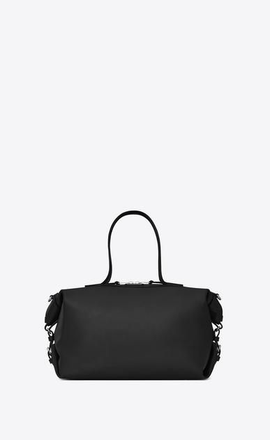 SAINT LAURENT ID bags Uomo Bag Medium convertibile ID in pelle nera a_V4
