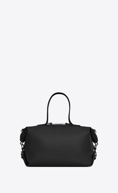 SAINT LAURENT ID bags U Medium convertible ID bag in black leather b_V4