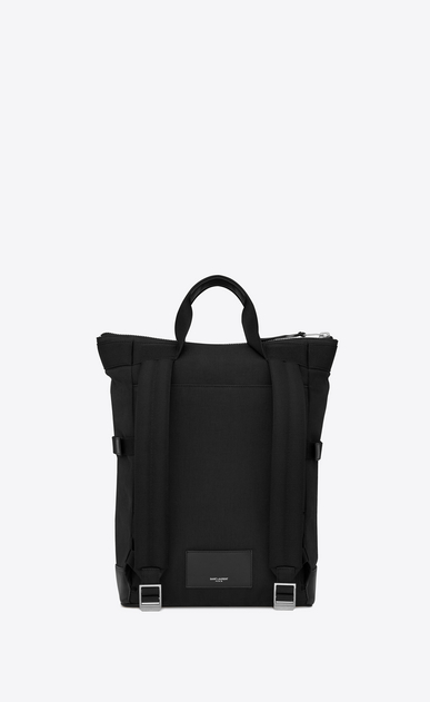 SAINT LAURENT Buckle Backpacks Man RIVINGTON RACE convertible backpack in canvas b_V4