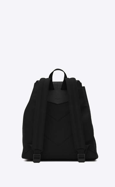 SAINT LAURENT Noé luggages Man noe saint laurent backpack in black crocodile b_V4