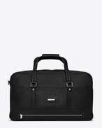SAINT LAURENT Noé luggages U NOE SAINT LAURENT duffle bag in black leather f