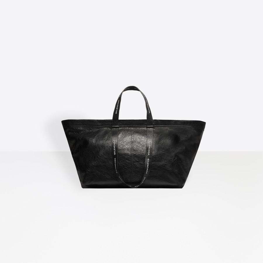 BALENCIAGA Carry Logo Handles Shopper L CARRY BAGS Man f