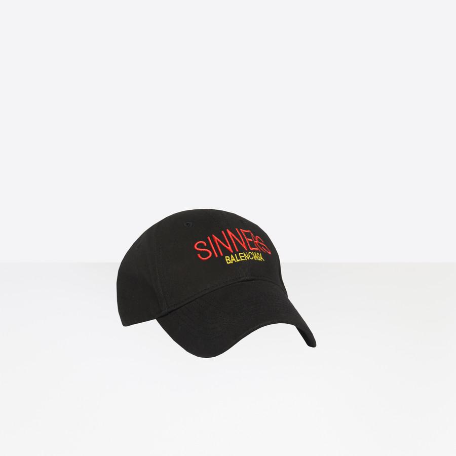 BALENCIAGA Balenciaga 'Sinners' Cap Cap Balenciaga Man i