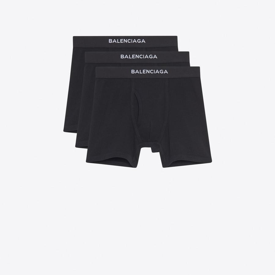 BALENCIAGA Three-Pack Balenciaga Boxers Underwear U f