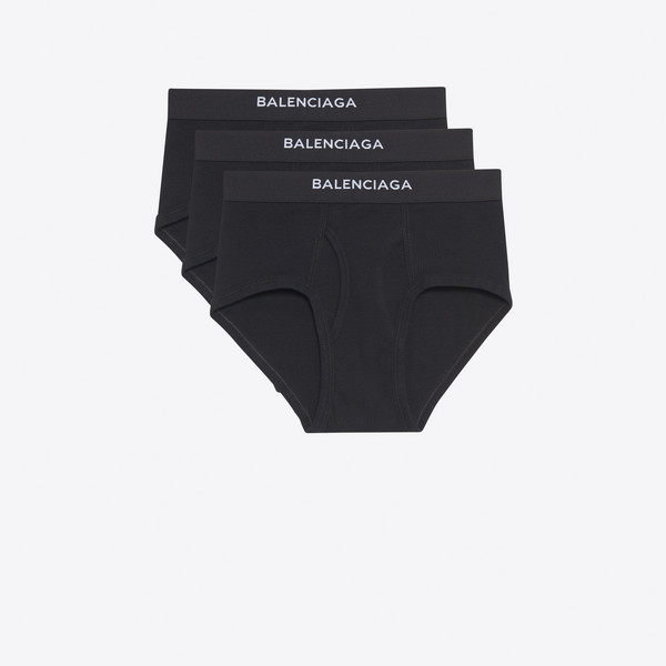 Three-Pack Balenciaga Briefs