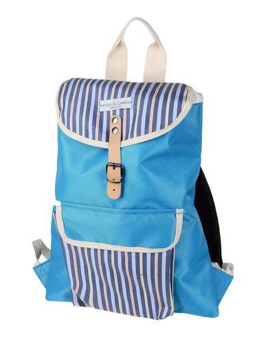 NATI CON LA CAMICIA レディース バックパック&ヒップバッグ アジュールブルー 紡績繊維