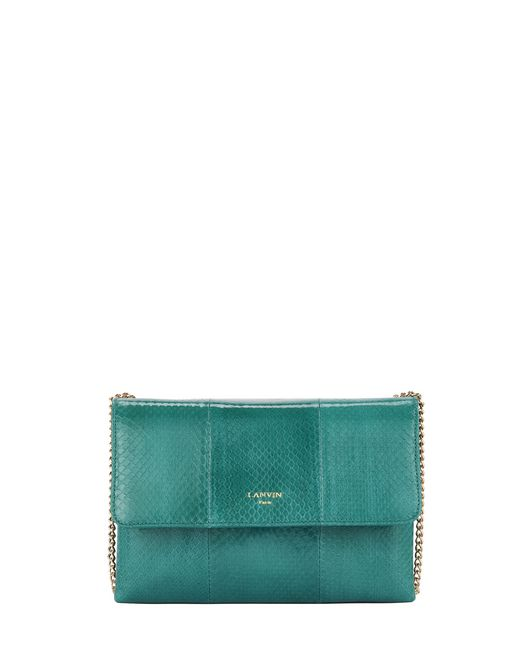 BORSA SUGAR MINI IN SERPENTE - Lanvin