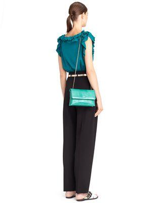 LANVIN WATERSNAKE MINI SUGAR BAG Shoulder bag D b