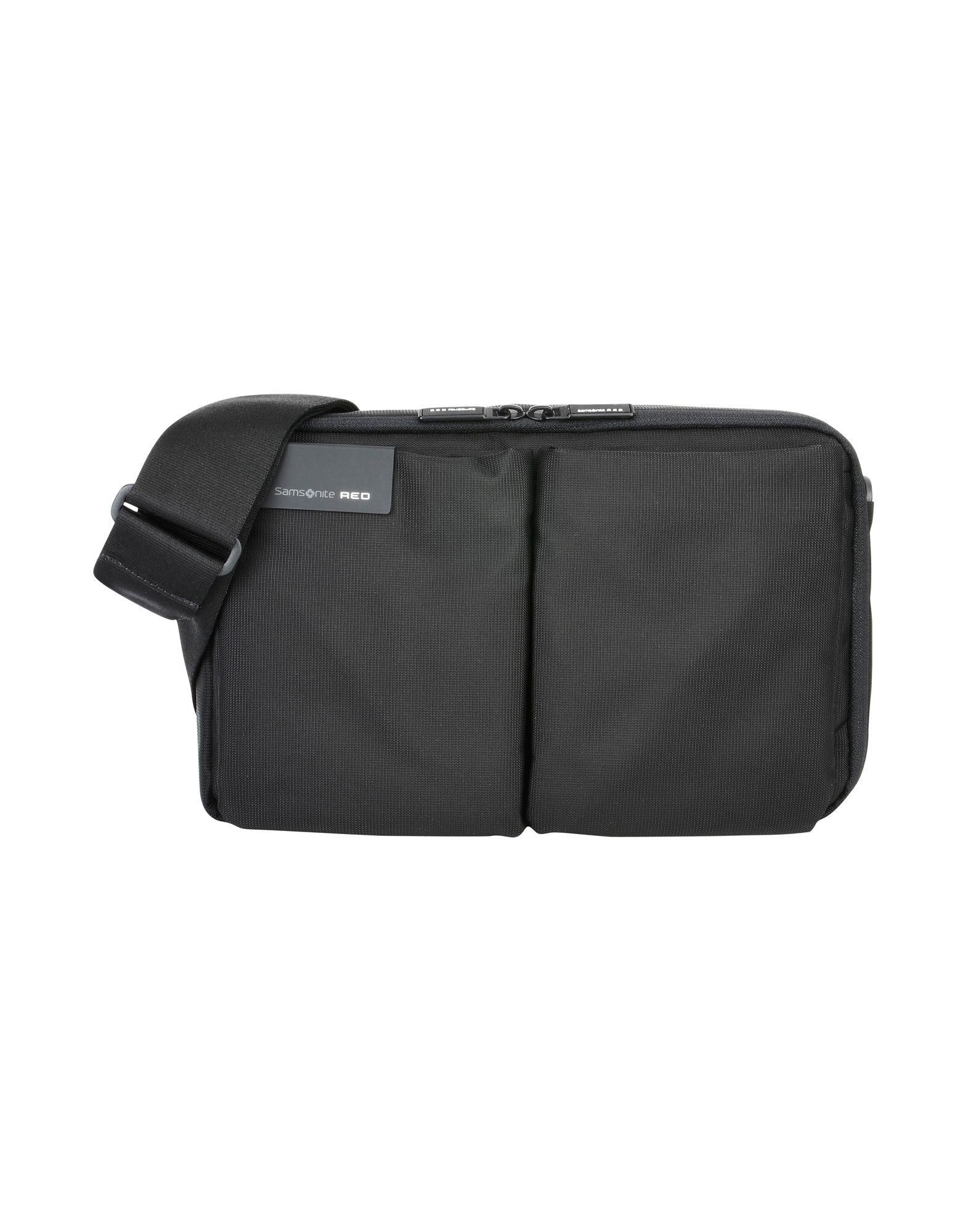 SAMSONITE RED Сумка через плечо новая сумка на плечо samsonite 14 легкий модный мужской рюкзак бизнес случайная сумка для компьютера bu1 10001 темно красный