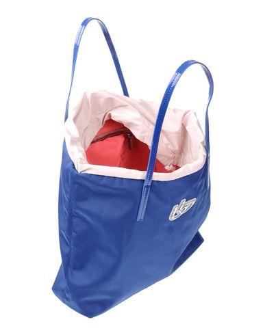 BLU BYBLOS レディース ハンドバッグ ブルー 紡績繊維