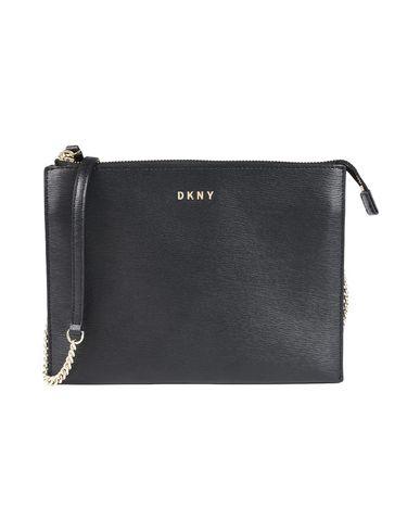 DKNY レディース ハンドバッグ ブラック 牛革 100%