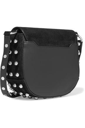 ALEXANDER WANG Lia mini studded suede shoulder bag
